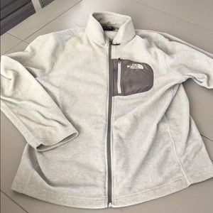 The North Face Jackets & Coats - Grey north face fleece